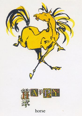 typography_happy_horse
