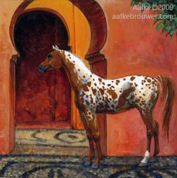 Horses in the Alhambra: Trabag