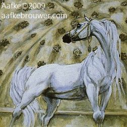 Horses in the Alhambra