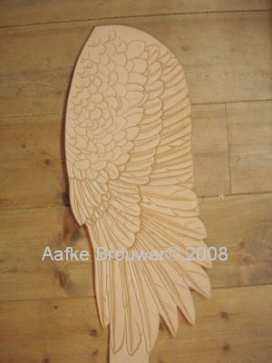 American-eagle-wing-Aafke-art-design