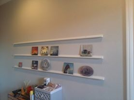 wall shelves for paintings
